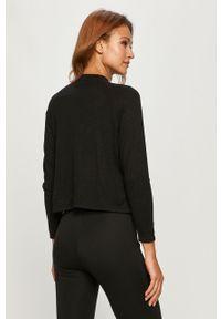 Czarny sweter Haily's długi, na co dzień, z długim rękawem, casualowy