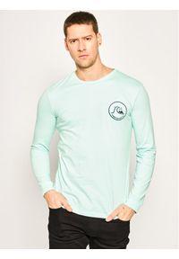 Zielona koszulka z długim rękawem Quiksilver