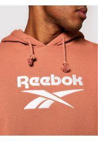 Reebok Bluza Classics Foundation Vector GU3881 Brązowy Oversize. Kolor: brązowy