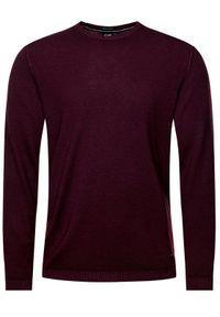 Czerwony sweter klasyczny JOOP!