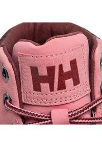 Różowe buty trekkingowe Helly Hansen z cholewką