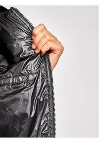 Czarna kurtka bomberka Trussardi Jeans z nadrukiem