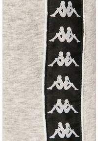 Kappa - Spodnie. Kolor: szary. Materiał: dzianina