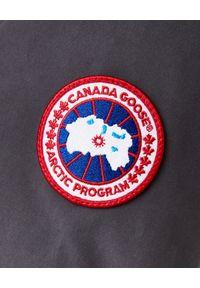 CANADA GOOSE - Szara parka Trillium. Kolor: szary. Materiał: futro. Długość: długie. Styl: klasyczny