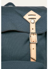 Doughnut - Plecak American Vintage. Kolor: niebieski. Wzór: paski. Styl: vintage