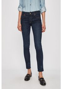 Niebieskie jeansy Polo Ralph Lauren z aplikacjami