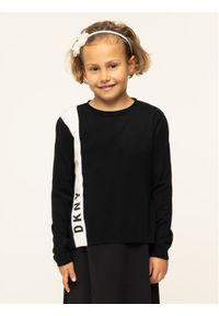 Czarny sweter DKNY