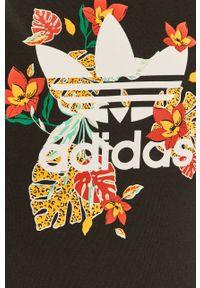 Czarna sukienka adidas Originals na ramiączkach, na co dzień