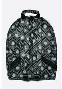 Czarny plecak Mi-Pac z nadrukiem