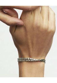 GAS BIJOUX - Srebrna bransoleta o nieregularnym kształcie Liane. Materiał: srebrne. Kolor: srebrny