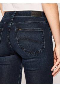 Niebieskie jeansy slim Lee #5