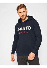 Musto Bluza 82019 Granatowy Regular Fit. Kolor: niebieski