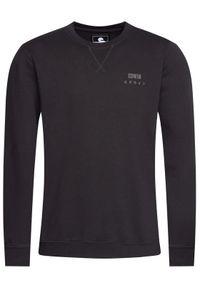 Edwin Bluza Base Crew Sweat I025854 TG1271P 8967 Czarny Regular Fit. Kolor: czarny