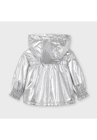 Mayoral Kurtka przejściowa 3483 Srebrny Regular Fit. Kolor: srebrny