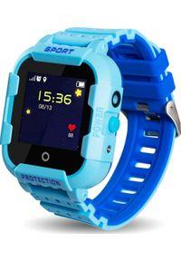 Smartwatch CALMEAN Sport Niebieski. Rodzaj zegarka: smartwatch. Kolor: niebieski. Styl: sportowy