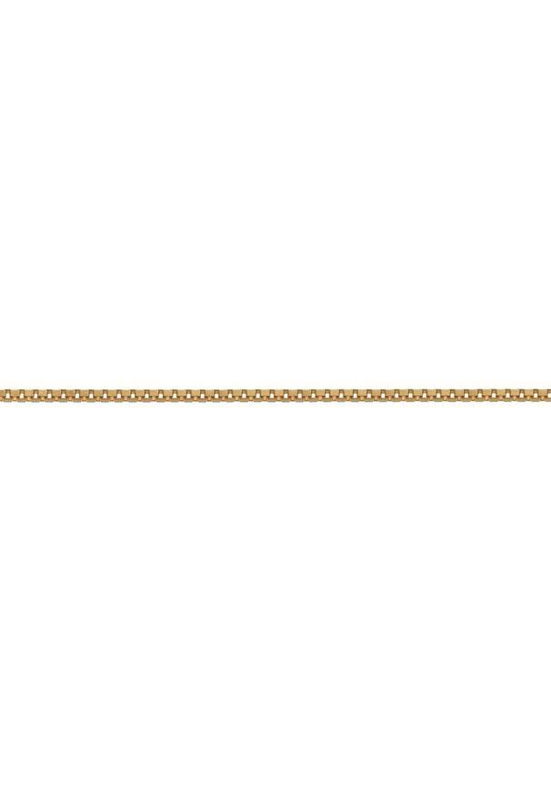 W.KRUK Wspaniały Złoty Łańcuszek - złoto 585 - ZSI/LB02. Materiał: złote. Kolor: złoty. Wzór: ze splotem