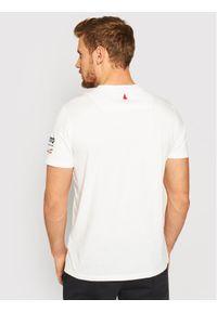 Musto T-Shirt Tokyo 81183 Biały Regular Fit. Kolor: biały #5