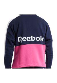 Bluza damska Reebok Training Essentials Logo FU2205. Materiał: bawełna, poliester. Wzór: napisy. Sport: fitness #3