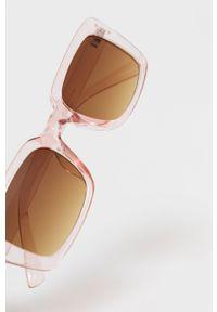 Różowe okulary przeciwsłoneczne only