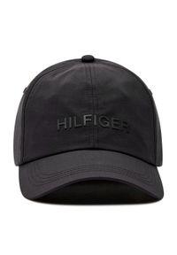 Czarna czapka z daszkiem TOMMY HILFIGER