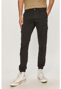 Jack & Jones - Spodnie. Okazja: na co dzień. Kolor: czarny. Styl: casual