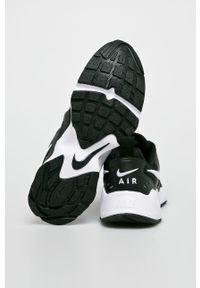 Czarne sneakersy Nike Sportswear z okrągłym noskiem, z cholewką, na sznurówki