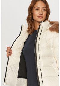 Biała kurtka Calvin Klein na co dzień, casualowa, z kapturem #6