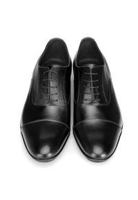 Czarne buty wizytowe Wittchen klasyczne, na wiosnę