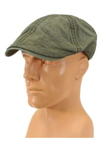 Zielona czapka Pako Jeans wakacyjna, na lato