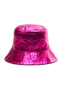 Karl Lagerfeld - Bucket KARL LAGERFELD - 210W3413 Metallic 573. Kolor: różowy. Materiał: poliester, poliamid, materiał