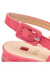 Różowe sandały HÖGL