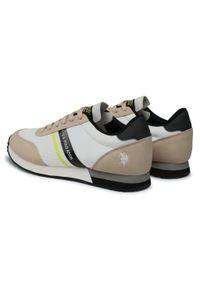 U.S. Polo Assn - Sneakersy U.S. POLO ASSN. - Brandon2 WILYS4127S0/MY2 Whi/Libe. Okazja: na co dzień. Kolor: biały. Materiał: skóra, skóra ekologiczna, materiał. Szerokość cholewki: normalna. Styl: sportowy, casual