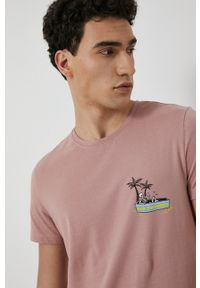 medicine - Medicine - T-shirt Summer Camp. Kolor: fioletowy. Materiał: bawełna, dzianina. Wzór: nadruk