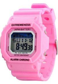 Różowy zegarek Upominkarnia