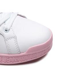 Versace Jeans Couture - Sneakersy VERSACE JEANS COUTURE - E0VWASP8 71957 003. Okazja: na co dzień. Kolor: biały. Materiał: skóra. Szerokość cholewki: normalna. Styl: casual