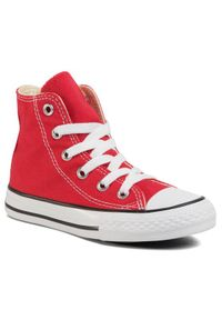 Czerwone buty sportowe Converse