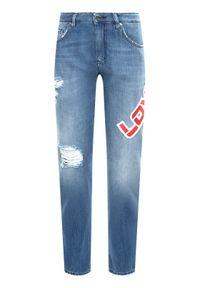 Niebieskie jeansy Love Moschino
