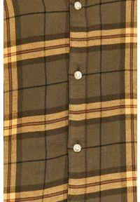 Oliwkowa koszula PRODUKT by Jack & Jones z klasycznym kołnierzykiem, klasyczna, na co dzień, długa