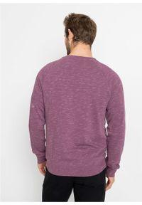 Bluza bonprix matowy jeżynowy. Kolor: różowy. Styl: sportowy