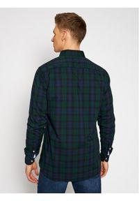 Zielona koszula casual TOMMY HILFIGER