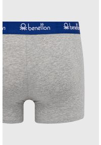 United Colors of Benetton - Bokserki. Kolor: szary. Materiał: bawełna