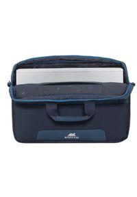 Niebieska torba na laptopa RIVACASE elegancka #4