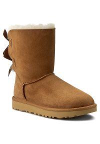 Brązowe śniegowce Ugg z cholewką, na zimę