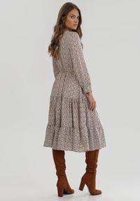 Biała sukienka Born2be #6