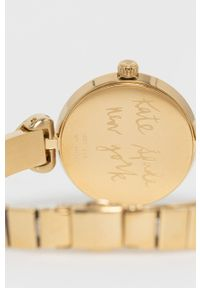 Kate Spade - Zegarek. Kolor: złoty. Materiał: materiał