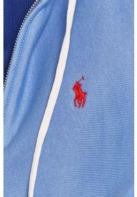 Polo Ralph Lauren - Bluza. Okazja: na co dzień. Typ kołnierza: polo. Kolor: niebieski. Styl: casual