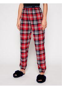 Piżama Emporio Armani Underwear w kolorowe wzory