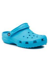 Crocs Klapki Classic 10001 Niebieski. Kolor: niebieski