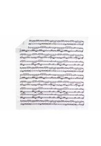 Adam Collection - Biała poszetka w pięciolinie E258. Kolor: biały