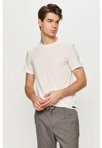 Biały t-shirt Ted Baker na co dzień, casualowy
